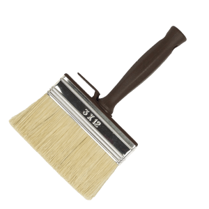HOBBY BLOCK PAINT-BRUSH WITH WHITE BRISTLES