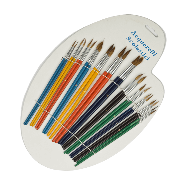 fine arts paint brushes