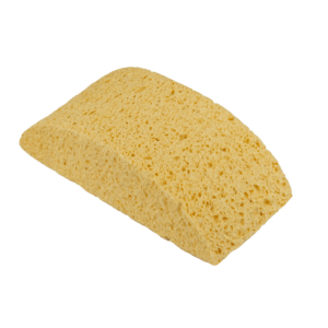 HALF-MOON SYNTHETIC SPONGE