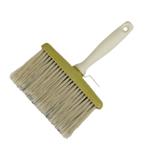 pvc bristles block wall paint-brush